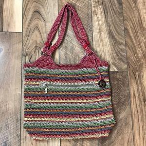 The Sak Multicolor Crochet Handbag
